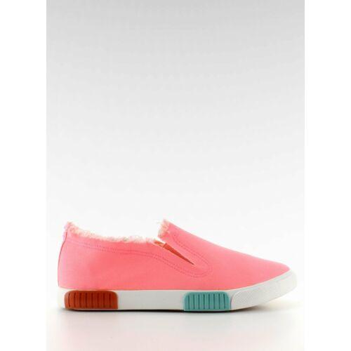 Női utcai sportos cipő (bl65), rózsaszín