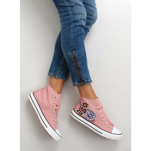 Női utcai sportos cipő (bl101p), rózsaszín
