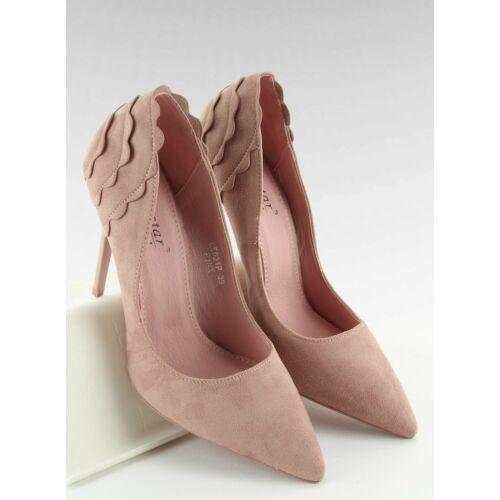 Női magassarkú (LE031), rózsaszín