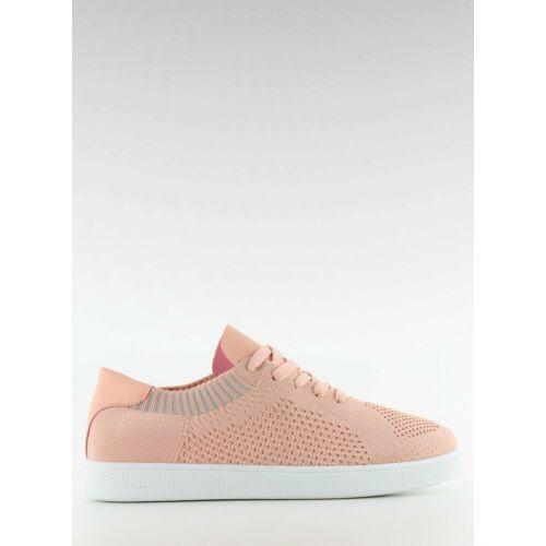 Női utcai sportos cipő (lz-9826), rózsaszín