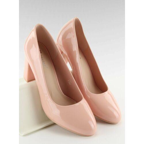 Női magassarkú (m263p), rózsaszín, elegáns