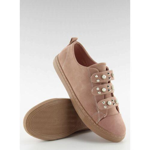 Női utcai sportos cipő (l1078), rózsaszín