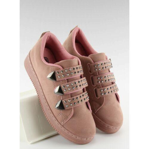 Női utcai sportos cipő (16-582), rózsaszín