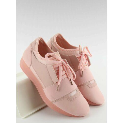 Női utcai sportos cipő (ab-170), rózsaszín