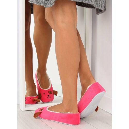 Női házi papucs (nm7518), rózsaszín