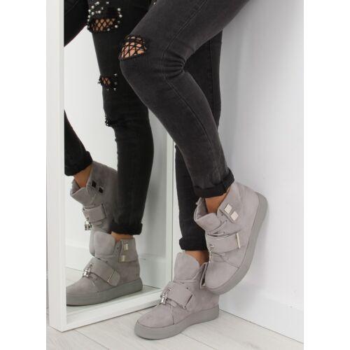 Női utcai sportos cipő (NC158), szürke
