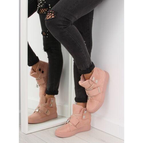 Női utcai sportos cipő (NC158), rózsaszín