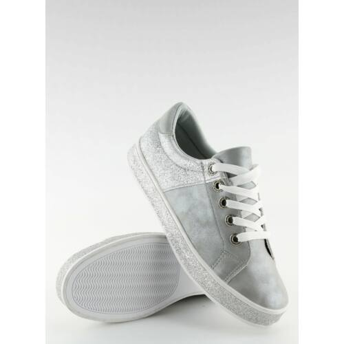Női utcai sportos cipő (BL125), szürke