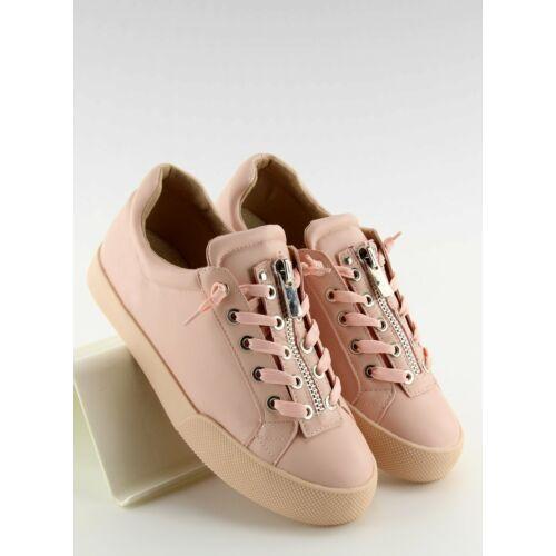 Női utcai sportos cipő (7209), rózsaszín