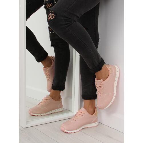 Női utcai sportos cipő (BK-85), rózsaszín