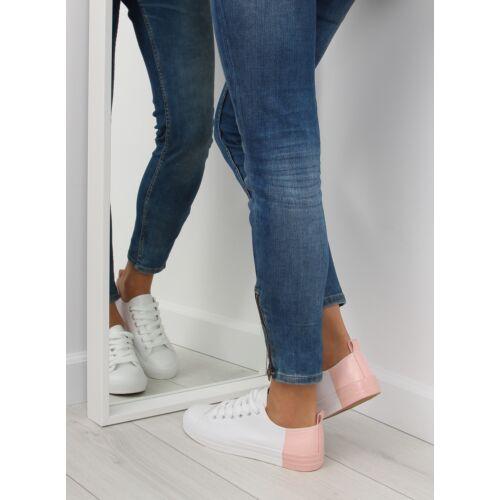 Női utcai sportos cipő (BK378), fehér