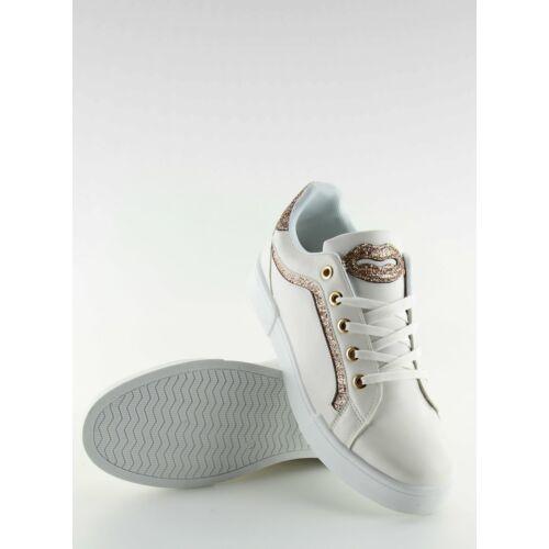 Női utcai sportos cipő (BM1972), fehér