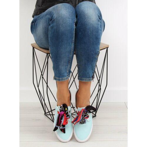 Női utcai sportos cipő (XL09P), világoskék