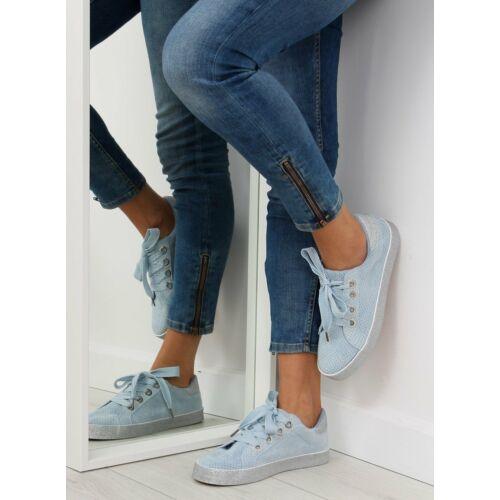 Női utcai sportos cipő (AK03P), világoskék