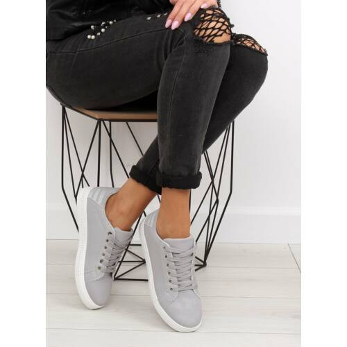 Női utcai sportos cipő (SU09p), szürke
