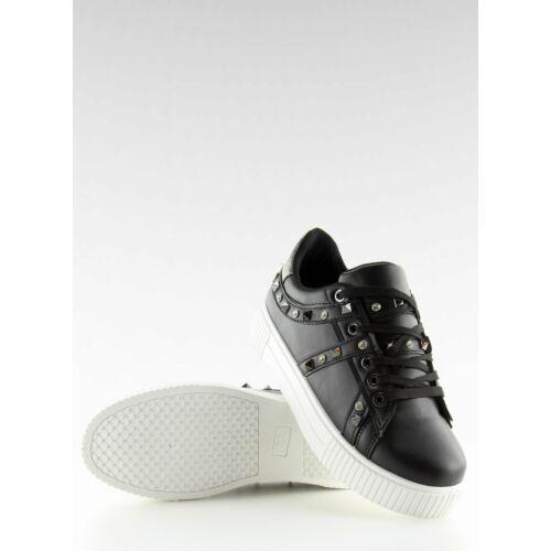 Női utcai sportos cipő (BM1955), fekete