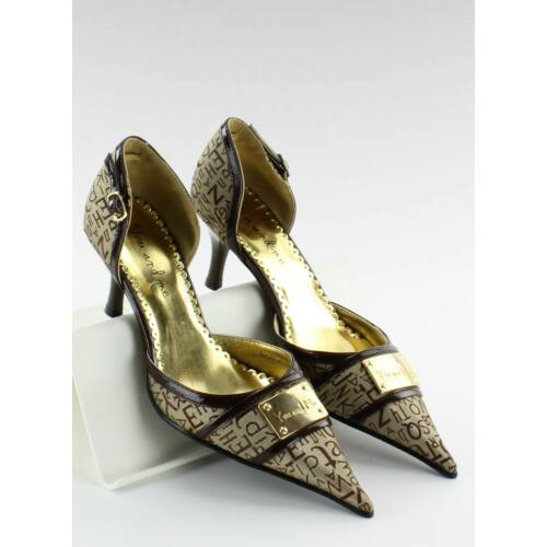 Női félcipő (51589-36), barna