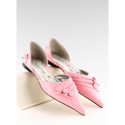 Női félcipő (39029-8A), rózsaszín