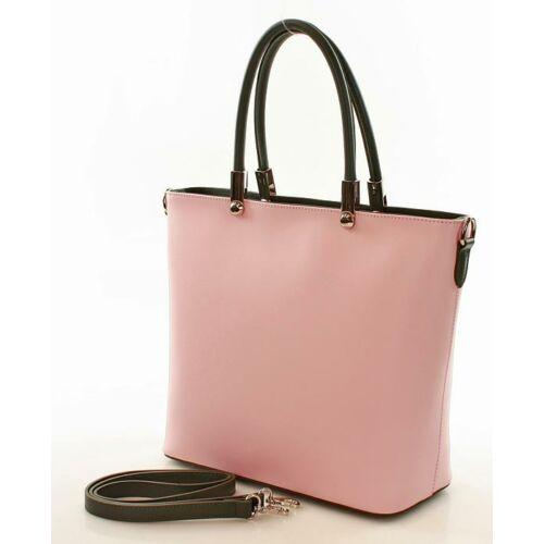 MAZZINI Női városi bőrtáska (344d), rózsaszín