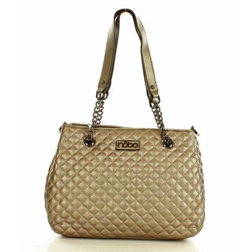 NOBO Női klasszikus táska (n0430a), arany