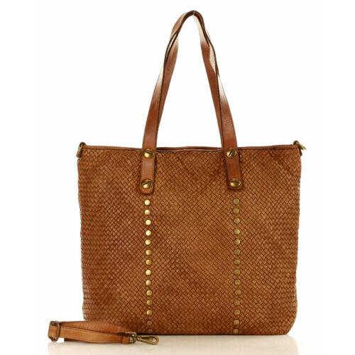 MAZZINI Női bevásárlótáska (s211a), barna